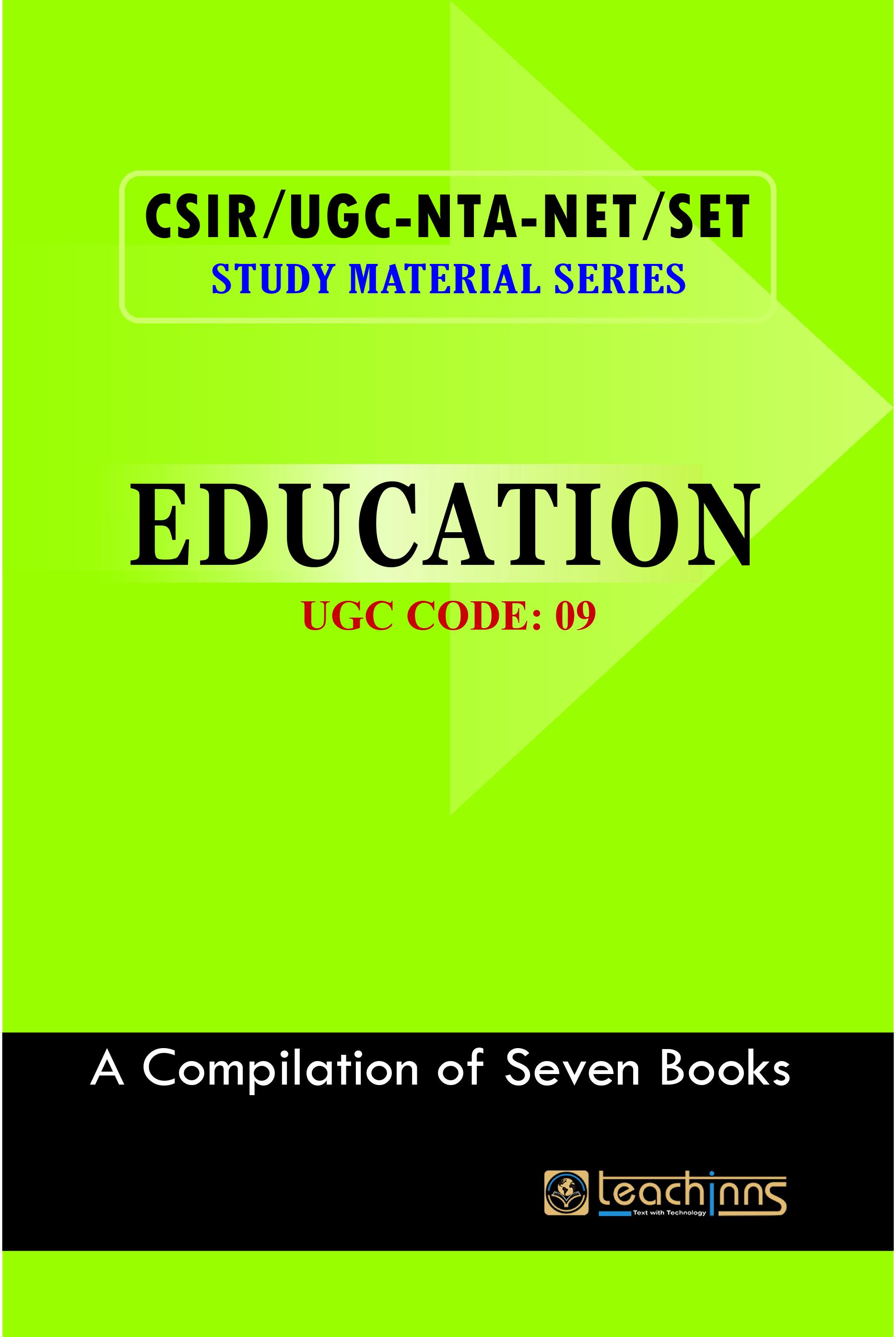 UGC-NTA NET/SET/JRF NET-Leader Education 2020
