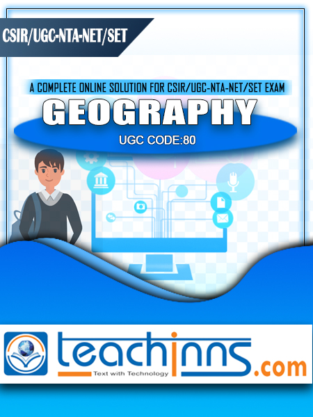 UGC-NTA NET/SET/JRF NET-Leader Geography 2020