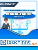 Study Materials & Previous Years Solved Papers for UGC NTA NET/SET/JRF General Paper - 1 & Management