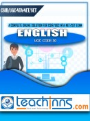 Study Materials & Previous Years Solved Papers for UGC NTA NET/SET/JRF English