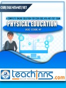 Study Material & Previous Years Solved Papers For UGC NTA NET/SET/JRF Physical Education